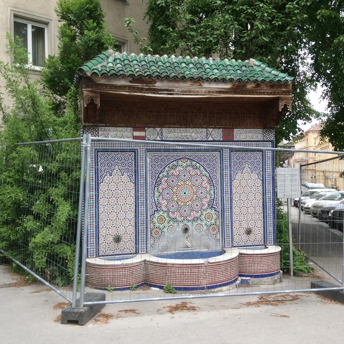 Marokkanerbrunnen Wien